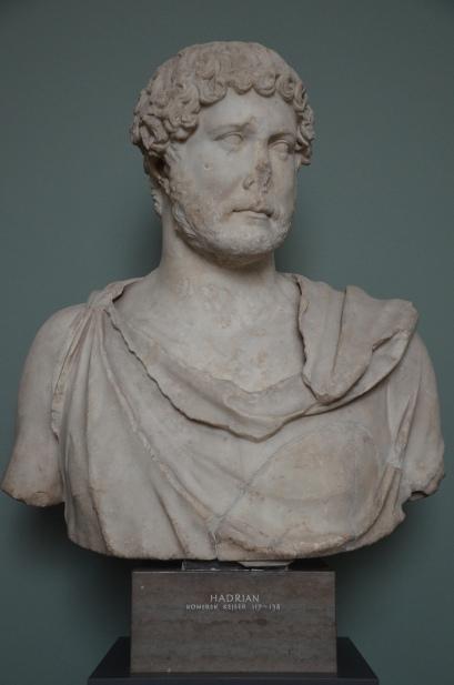 Hadrian, from Rome, 125-138 AD, Ny Carlsberg Glyptotek, Copenhagen