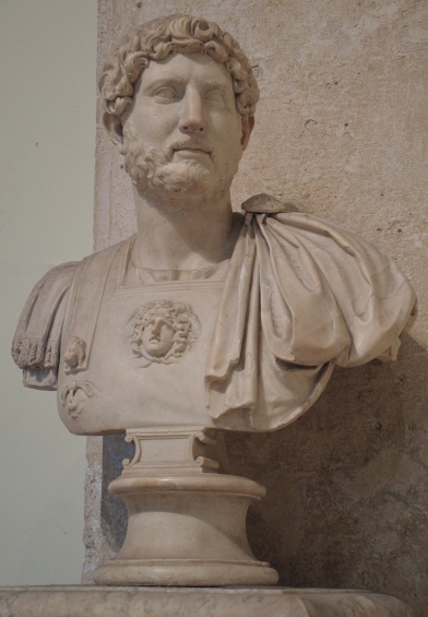Bust of Hadrian, from 117 until 138 AD, Palazzo dei Conservatori, Capitoline Museums