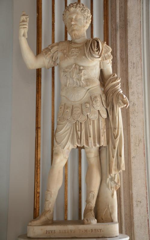 Cuirassed statue of Marcus Aurelius, Capitoline Museums © Carole Raddato