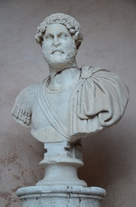 Head of Hadrian on a modern bust, from Hadrian's Mausoleum, National Museum of Castel Sant'Angelo, Rome © Carole Raddato