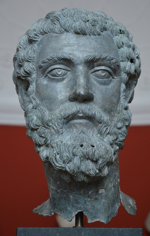 Bronze head of Septimius Severus, from Asia Minor, c. 195-211 AD Ny Carlsberg Glyptotek, Copenhagen © Carole Raddato
