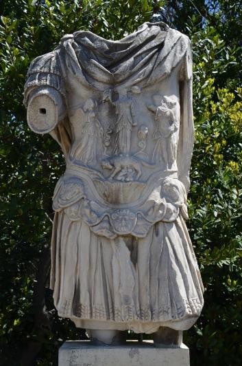 Statue of Hadrian, Ancient Agora of Athens © Carole Raddato