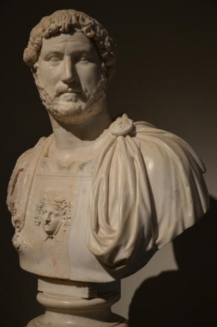 Hadrian bust wearing the cuirass, AD 130, Naples National Archaeological Museum