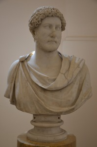 Hadrian wearing the chlamys, between 132 & 138 AD, Naples National Archaeological Museum