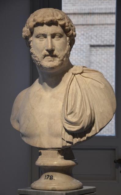Bust of Hadrian, 134 AD, Museo Nacional del Prado, Madrid