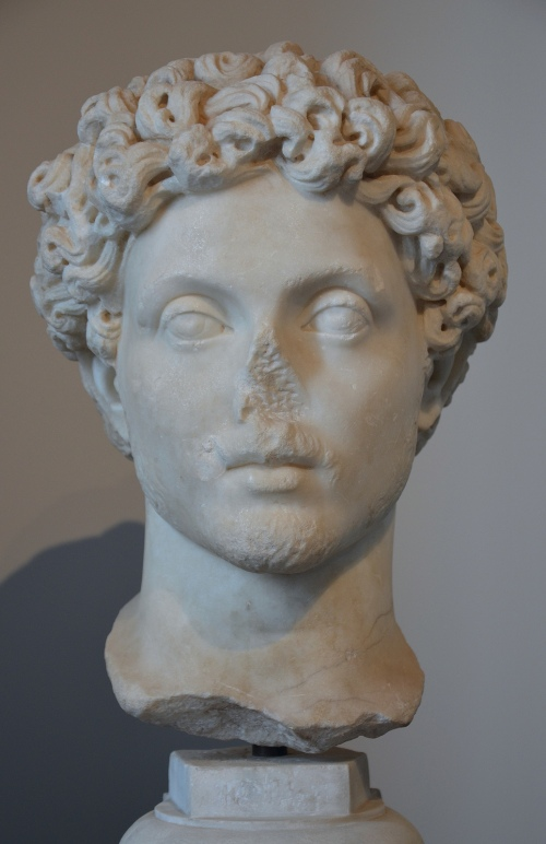 Portrait of Marcus Aurelius as a young man, from the Area of San Teodoro on the Palatine, Palatine Museum, Rome