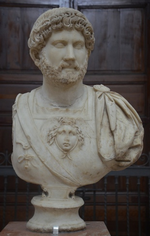 Bust of Hadrian, Archaeological Museum, Seville