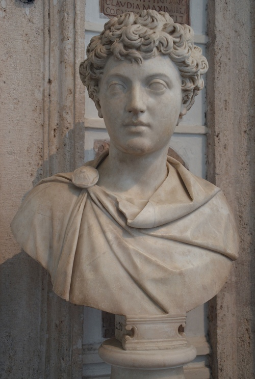 Portrait of Emperor Marcus Aurelius as a boy, Musei Capitolini, Rome