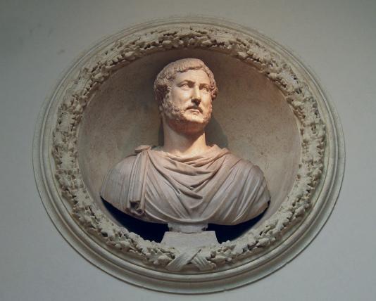 Bust of Hadrian, Musei Capitolini, Rome