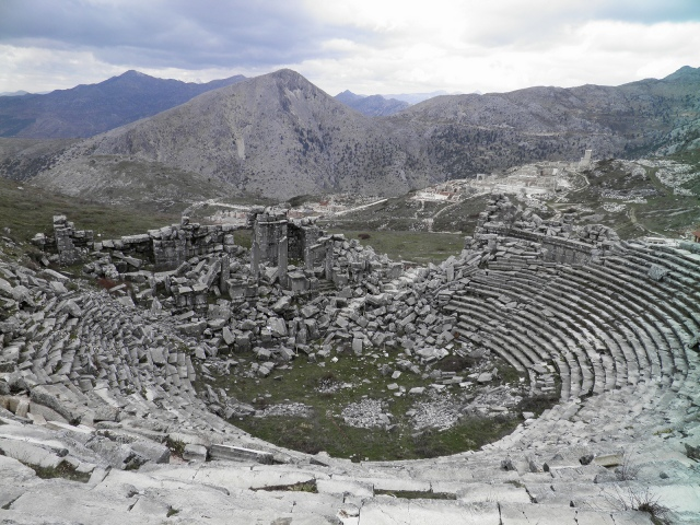The Roman Theatre, completed around 180-210 AD © Carole Raddato