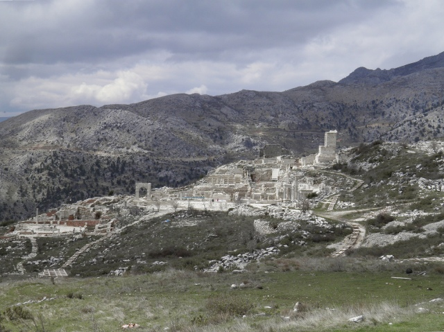 Panoramic view of Sagalassos and the mountainous landscape, Sagalassos, Turkey © Carole Raddato