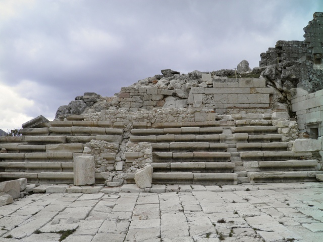 The Bouleuterion (Council Hall), built ca 100 BC, Upper Agora, Sagalassos, Turkey