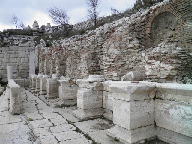 The Trajanic then Severan Nymphaeum, Lower Agora © Carole Raddato