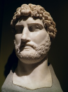 The head of the colossal marble statue of Hadrian found at the Sagalassos Roman Baths complex in 2007, Burdur Museum © Carole Raddato