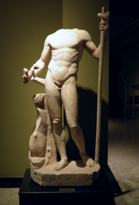 Statue of Poseidon from Hadrian's Nympheaum at Sagalassos, Burdur Museum © Carole Raddato