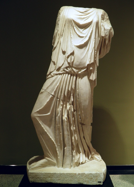 Leto (mother of  Apollo and Artemis), 2nd – 3rd century AD, from Cremna, Burdur Museum © Carole Raddato