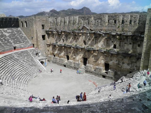 Aspendos Theatre © Carole Raddato