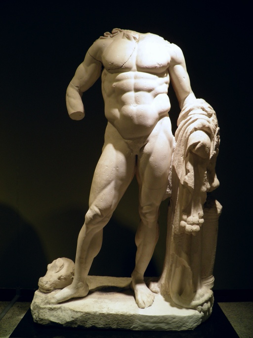 Hercules, Roman period, 2nd – 3rd century AD, from Cremna, Burdur Museum © Carole Raddato