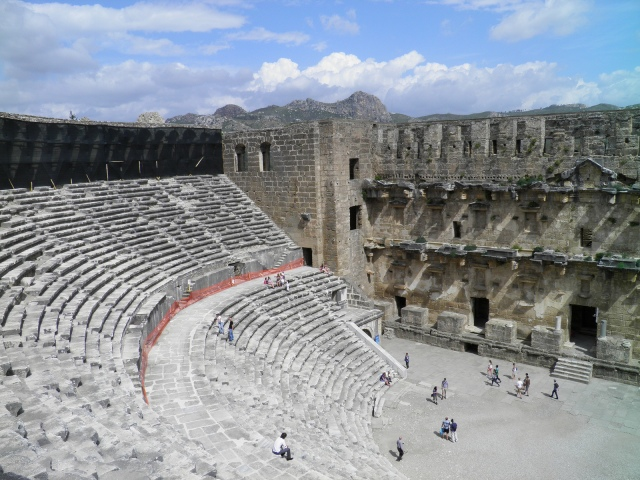 The cavea of the Roman Theatre  © Carole Raddato