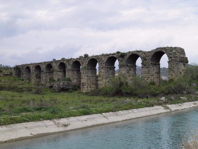 Aspendos aqueduct © Carole Raddato