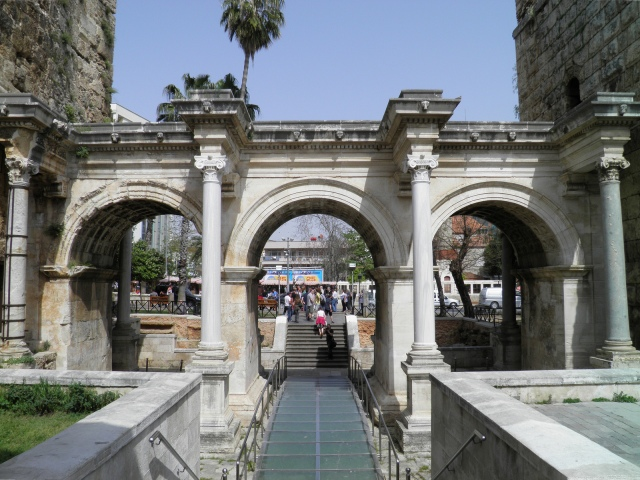 Hadrian goes to Attaleia – images from Hadrian's Gate at ...