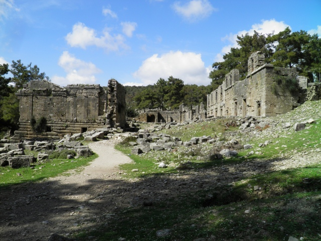 General view of the Agora, Seleukeia (Lyrbe) ©Carole Raddato