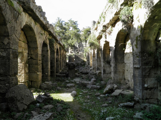 The gallery storage below the Agora, Seleukeia (Lyrbe) ©Carole Raddato