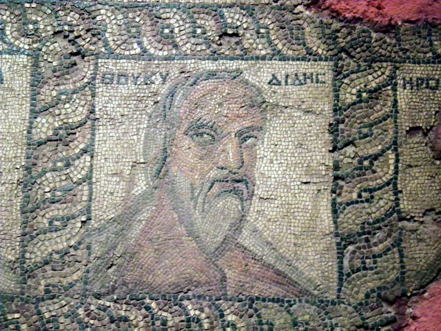 Portrait of Thucydides from Seleuceia, Antalya Museum © Carole Raddato