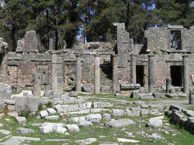 The Odeon in the southeastern part of the Agora, Seleukeia (Lyrbe) Carole Raddato