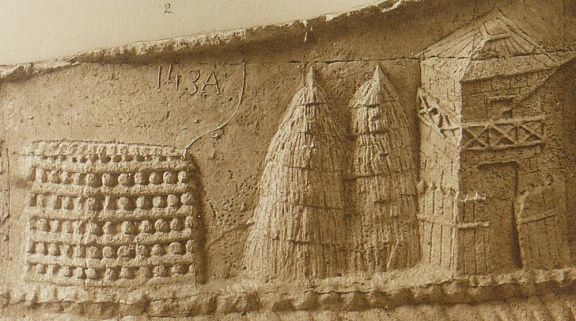 Roman watchtower and beacon on the lower Danube frontier - Detail of plate IV: The watch on the Danube (Scene I) - The Reliefs of Trajan's Column by Conrad Cichorius