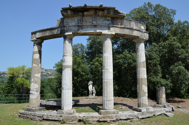 Temple of Venus Knidos, Hadrian's Villa, Tivoli © Carole Raddato