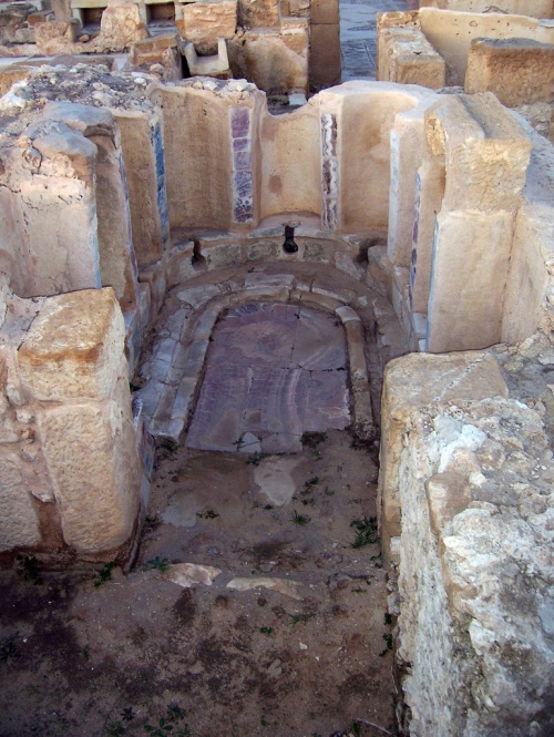 The Latrines in the Baths of the Laberii at Uthina (Tunisia)