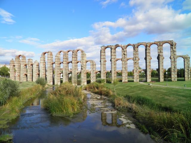 Los Milagros Aqueduct, Augusta Emerita © Carole Raddato