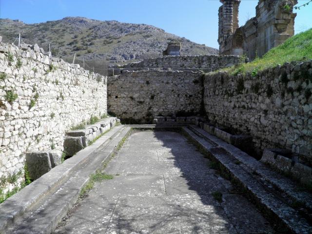 The latrine of the palaestra at Philippi (Greece)