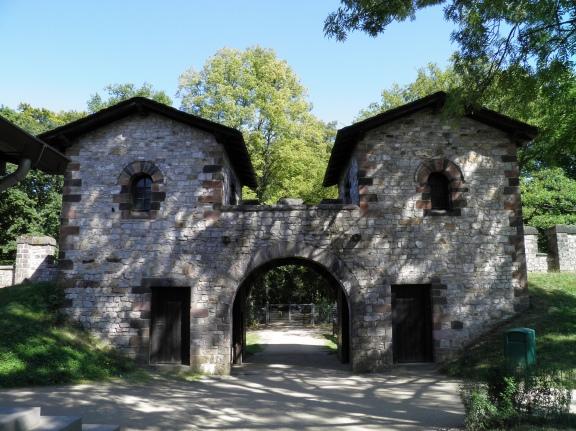 Porta Principalis Sinistra, Saalburg Roman Fort
