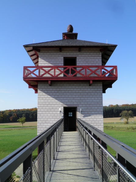 Reconstructed watchtower (WP 2/23), Limeskastell Pohl