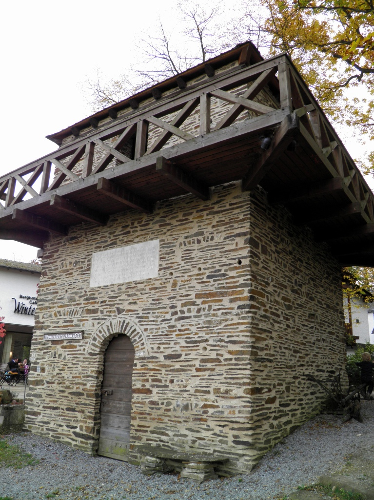 WP 2/1 - Reconstructed watchtower 2/1 near Bad Ems, the first and oldest tower constructed at the Limes
