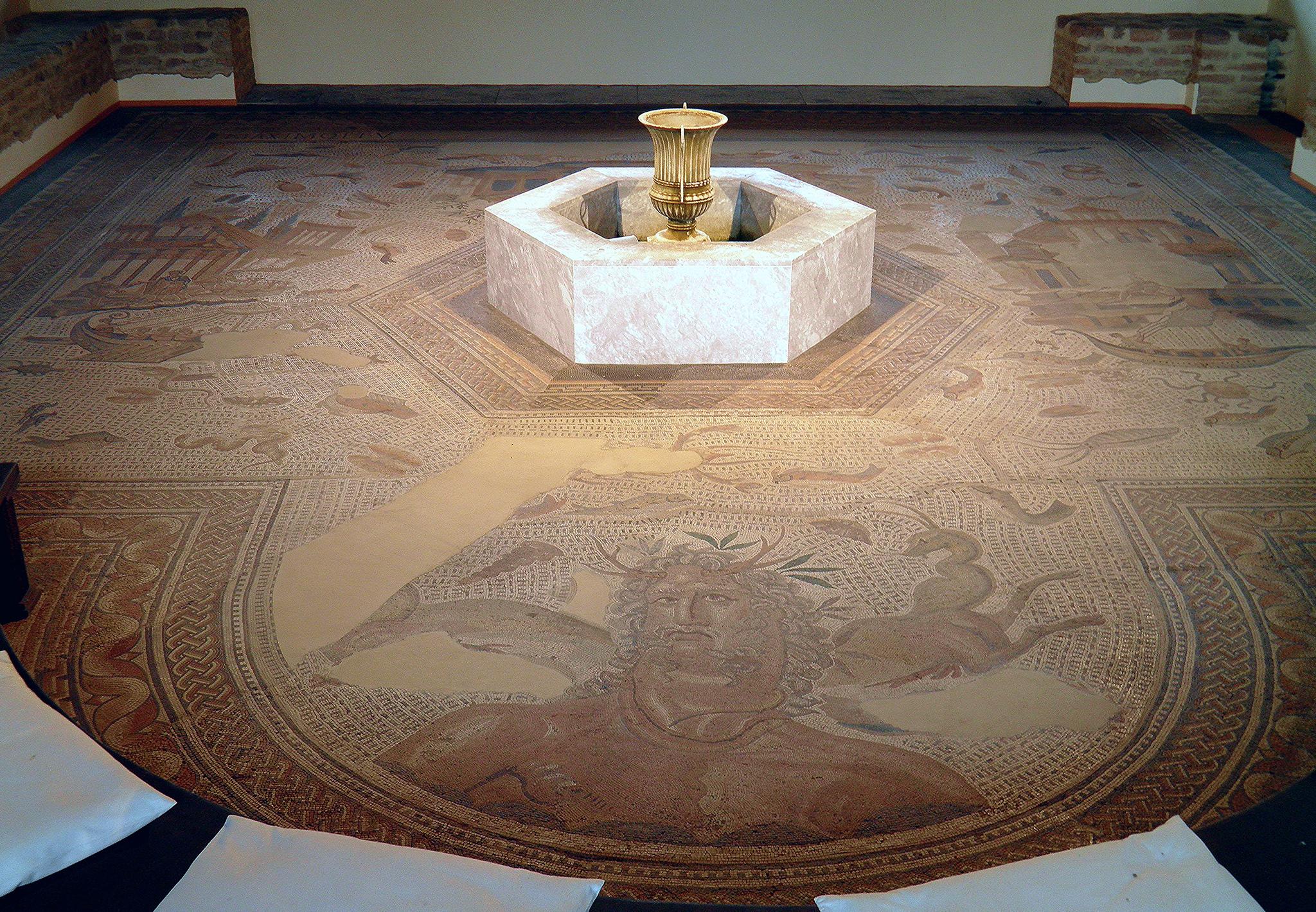The Gladiator Mosaic at Bad Kreuznach, Germany | FOLLOWING ...