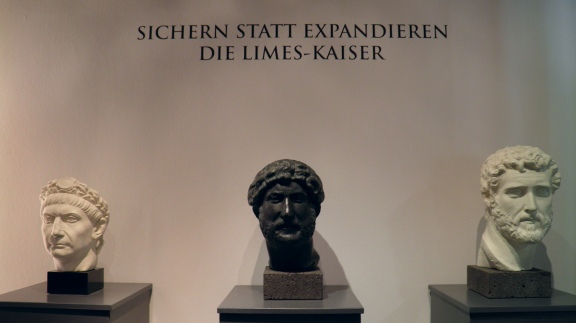 Rather than expand, secure... the Limes-Emperors, RömerWelt, Rheinbrohl