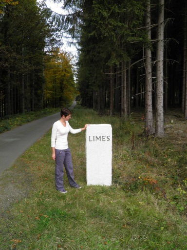 Me along the Limes road (October 2012)
