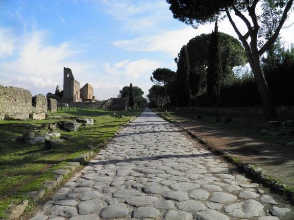 Via Appia, near the Villa dei Quintili