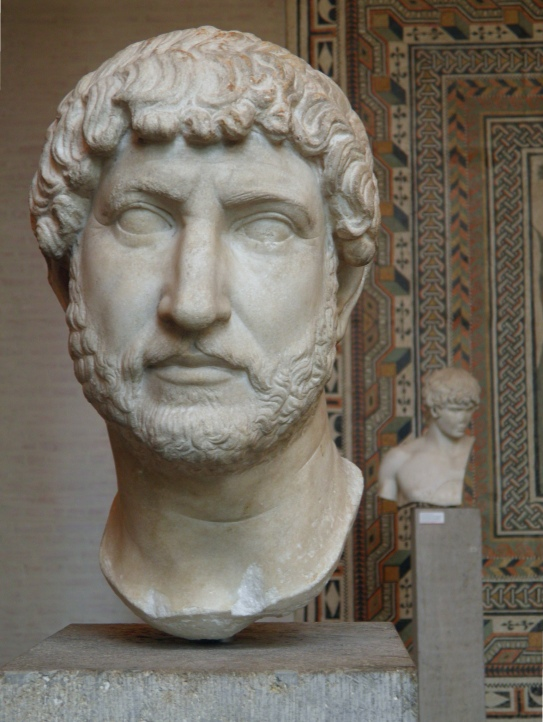 Hadrian and his beloved Antinous, Glyptothek, Munich