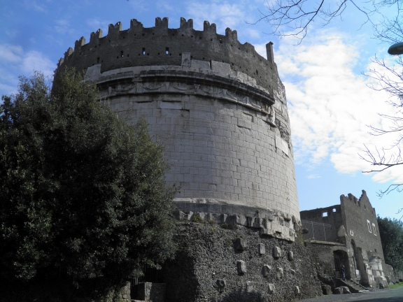 Mausoleum of Caecilia Metella, Via Appia