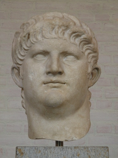 Colossal head of Nero belonging to a larger-than-life size statue, made a few years before his violent death,Glyptothek Museum, Munich © Carole Raddato