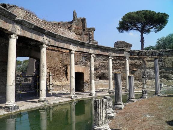 The Maritime Theatre, Hadrian's Villa, Tivoli © Carole Raddato