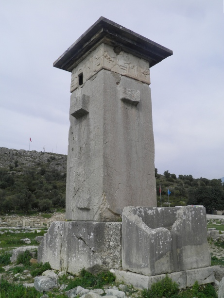 The Harpy Tomb, dating from 480-470 BC, Xanthos © Carole Raddato