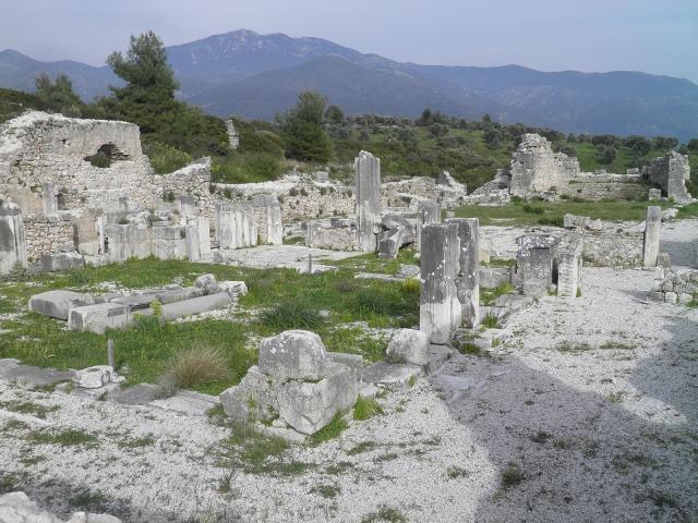 The Byzantine Basilica, Xanthos © Carole Raddato