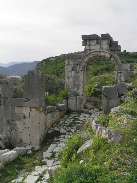 Archway dedicated to the Emperor Vespasian, Xanthos © Carole Raddato
