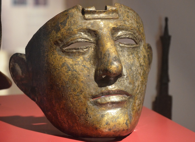 Cavalry Face-Mask Helmet (Type Nijmegen-Kops Plateau), Rijksmuseum van Oudheden, Leiden, Netherlands © Carole Raddato