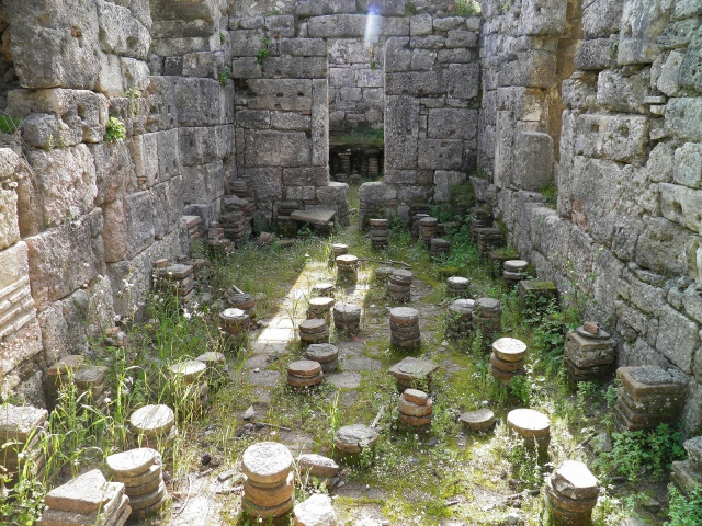 The bath-gymnasium complex, Phaselis © Carole Raddato